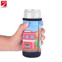 Gli isolanti sottili dei manicotti della latta del neoprene sottili possono coperchi per 12 latte della bevanda & di birra di energia dell'oncia fluida