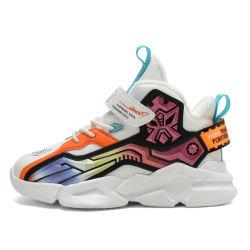 Chaussures pour enfants 2021 nouvelles couleurs automne Chaussures pour filles à fond en gel Chaussures de sport décontractées pour Garçon