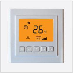 A velocidade do ventilador 3 termóstato de divisão digital sem fios 200 W para as unidades da bobina do ventilador