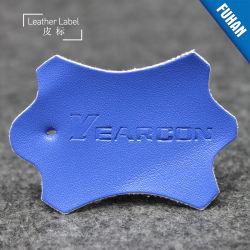 Imprimé en relief des marques personnalisée cuir synthétique étiquette