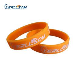 Yerllsom de bandes de caoutchouc personnels bracelets personnalisés pour cadeaux promotionnels Y20122308