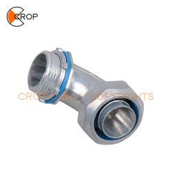 Elektrisches Rohr-Zubehör-wasserdichter flexibler Rohr-Verbinder-Winkel-Typ