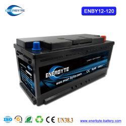 12V120ah Smart LiFePO4 Bateria Bateria de Iões de Lítio // bateria de lítio/bateria solar /Li-ion bateria/ Camping /Marine Battetry/bateria solar