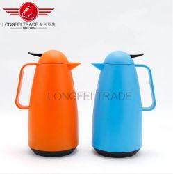Interior de aço inoxidável externo de plástico Cafeteira jarra térmica