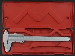 4方法使用(開いたタイプ)を用いるバーニヤカリパス150mmx0.02mm