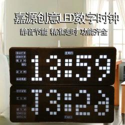 Jy-MCU High-Precision LED 시계 10 자명종 많은 수 전시 날짜 카운트다운 온도 똑딱거리기