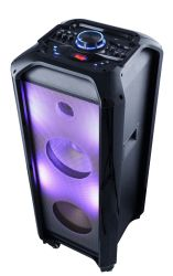 Dos de 10 pulgadas de la luz de JBL de caja de madera Bluetooth Altavoz recargable con luz de JBL