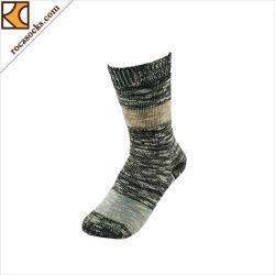 165092sk-Winter fertigen Muster gestrickte Wolle-starke Socken kundenspezifisch an