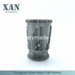 Custom chapados de metal de níquel antiguo Candelabro de metal grabado ilustración