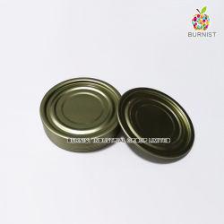 Le fer blanc couvercle 211 (65mm) de l'extrémité inférieure de la nourriture peut l'emballage