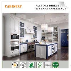 Portas oscilantes de madeira maciça de mobiliário de cozinha americana Maple cabinet