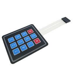 X4 teclado matricial de la matriz Arduin Módulo 12 Interruptor de membrana teclado de la llave de Expansión del panel de control de 3*4 microprocesador AVR