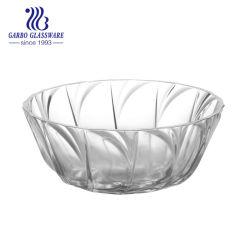 Stock de haute qualité en verre transparent résistant à la chaleur des bonbons bol à salade de fruits
