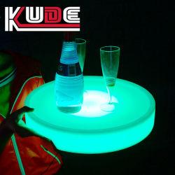 LED incandescentes que sirve en bandeja Bandeja de Bar