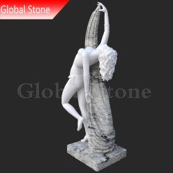 تمثال نحت حجري مخصص للسيدة الراقصة المنحوتة بالرخام الأنثوي (GSS-229)
