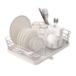 유행 건장한 스테인리스 금속 와이어 중간 접시 배수구 건조용 선반 접시 선반