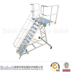 Escaleras de Paso de Embarque de Aluminio de China Factory Aircraft