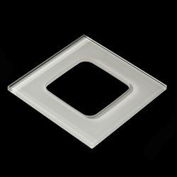 Soem-elektrische ausgeglichenes Glas-Schalter-Panel-Weiß-Farbe