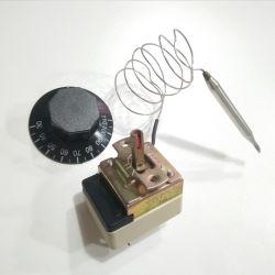 Personnalisés 30-200degrés capillaire électrique réglable Thermostat avec UL VDE