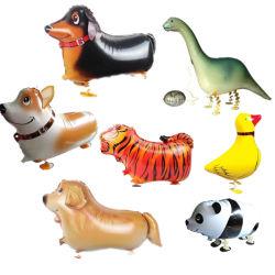 Lámina de a pie de los animales globos globos de aire inflables para Cumpleaños Boda Supplie