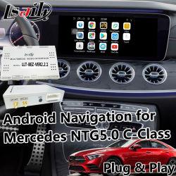 Android 6.0 автомобильной навигации GPS для 2015-2018 Mercedes Benz Gle Glc C-Class и т.д. с Mirrorlink Youtube и т.д.