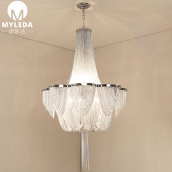 Le luxe Custom-Made décoratif lustre de la chaîne de projet
