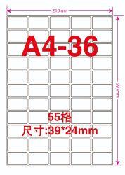 A4 Laser en het Zelfklevende Document van de Sticker