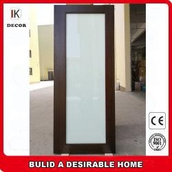 1 Lite коммерческих внутренних дел белого ламината стекла задней двери