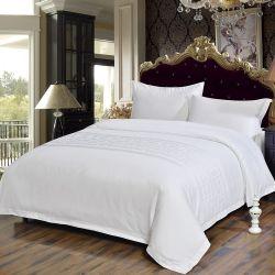 Lleno de lujo 4 trozos de algodón ropa de cama Ropa de cama estándar del hotel