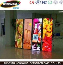 P2.5 P2 P3 LED pantalla espejo Digital Display carteles para publicidad