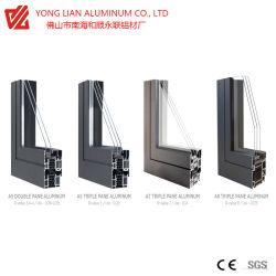 Aluminiumstrangpresßling-Profil für thermisches Breakdoor u. Fenster-Rahmen in den Baumaterialien