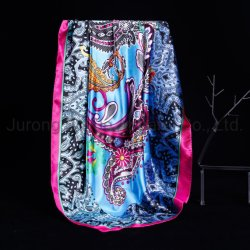 Modieuze vrouw Mulberry Silk Sjaal 54*54cm Luxe zijde Square sjaal