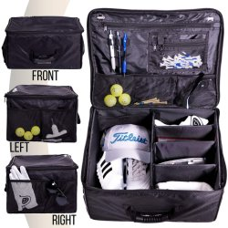 Tronco plegables Storage-Car Organizador de armario de Golf para almacenar la bolsa de accesorios de Golf