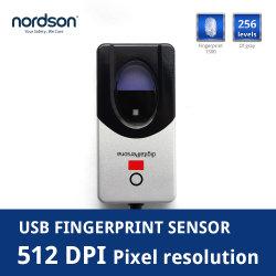出席指紋エントリ高速 USB 光学指紋リーダーセンサー