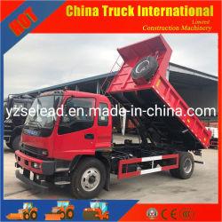 China Isuzu Fvr 4*2 241CV Heavy Duty utiliza la carga de volcado de Mini Dumper camiones volquete