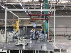 KBK souple et légère grue combinés pour l'entrepôt, atelier de l'utilisation