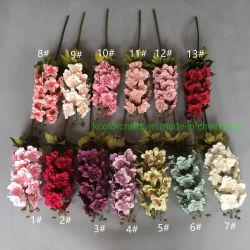 Commerce de gros Soft Touch une fleur artificielle de mariage de fleurs de soie pour la vente