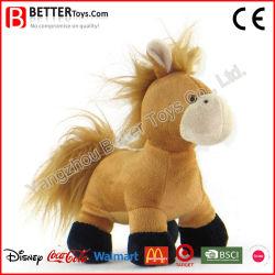 Pt71 Animal Suave Peluche recheadas Horse para crianças/Crianças brincam
