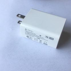 De EU het UK ons Jpn van iPhoneMAC van de Stop 5V3a 9V2a 12V1.5A Pd18W de Snelle Lader USB van het Stootkussen type-C