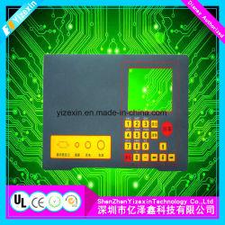 Clavier à écran tactile du panneau personnalisé interrupteur à membrane électronique