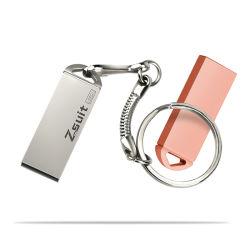 4G 8g 16g Llavero de metal de la tarjeta de memoria USB de disco Flash USB