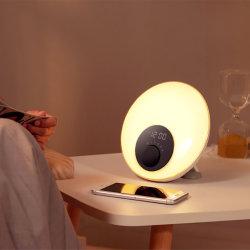 أفضل سعر في الصين الشركة المصنعة محاكاة شروق الشمس ساعة التنبيه مصباح لأعلى