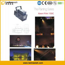 Piscina 150W Projeção Gobo LED de cor branca