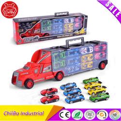 Camión contenedor con muchos Mini Toy Car