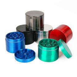 Moedor de Ervas Manual compacto liga de zinco da máquina rebarbadora de ervas de metal acessórios para fumadores