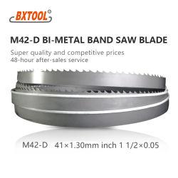 41mm*1.3mm bestes Qualitätsband Sägeblatt M42-D für Ausschnitt