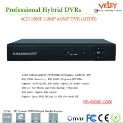 Schreiber H264 Echtzeit-DVR Ahd Videogerät CCTV-HDMI DVR