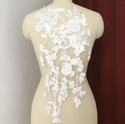 Мода вышитым кружевом патч устраивающих аксессуары для одежды