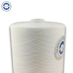 Filato cucirino 100% del poliestere grezzo semi con acuto di bianco 40/2