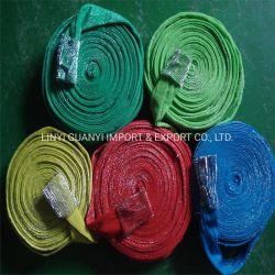 Estropajos de acero inoxidable en rollos de tela de alambre